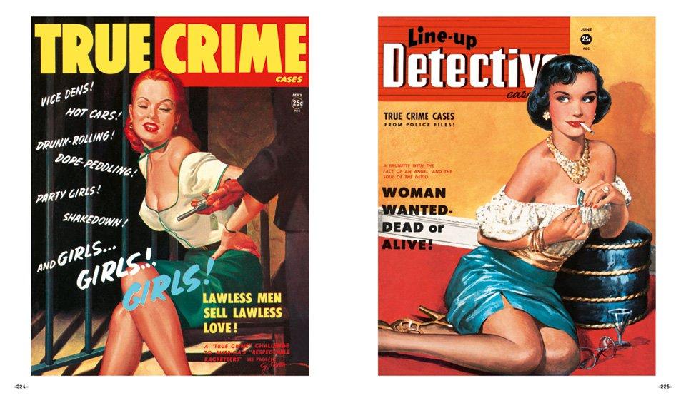 Cover von US-Detektivheftchen (c) Taschen